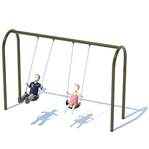 3.5 Inch Arch Swing Sets
