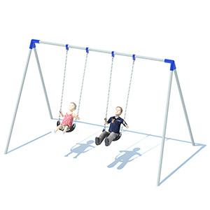 Bi-Pod Swing Sets