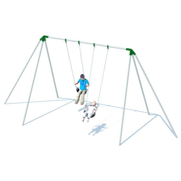 1 Bay 10' Tri-Pod Swing Frame