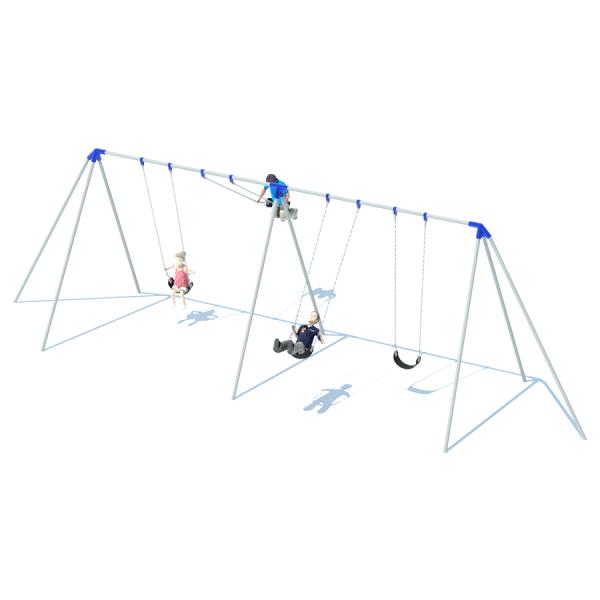 2 Bay 10' Tri-Pod Swing Frame