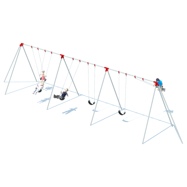 3 Bay 10' Tri-Pod Swing Frame