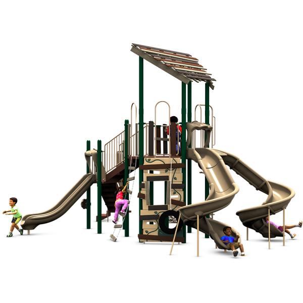 Secret Password treehouse playground front view