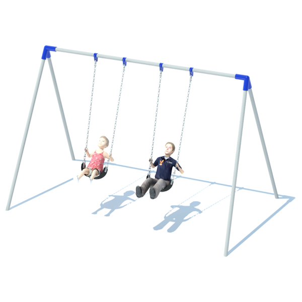 1 Bay Bi-Pod Swing Frame