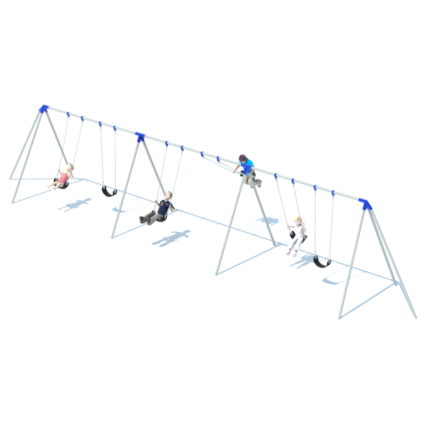 3 Bay 8' Tri-Pod Swing Frame