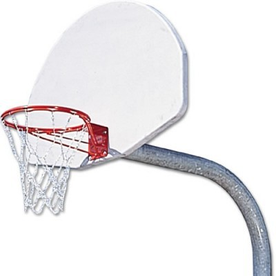 BASKETBALL GOAL SYSTEM WITH BREAKAWAY RIM