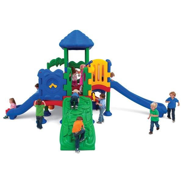 Discovery Center 5 - Budget Playground Equipment - Front View