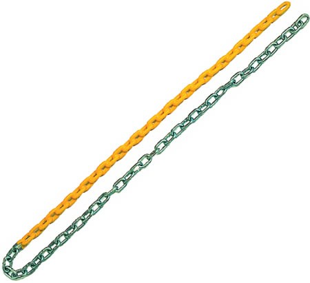 Half Plastisol Coated Chain