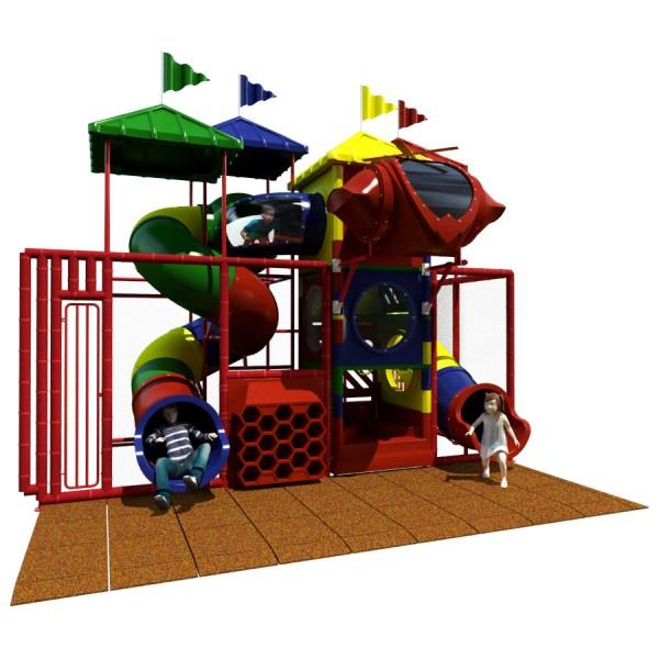 Junior 300 - Front View - Indoor Playground Equipment