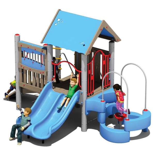 Dugout - Recycled Material Playground Equipment