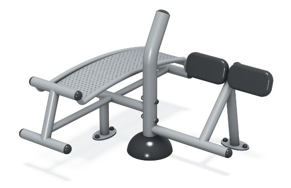 Sit-Up/Back Extension Station