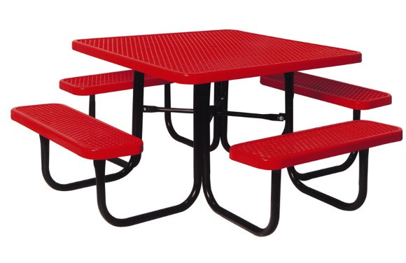 358 Ev 46in_square_expanded_metal_table Red