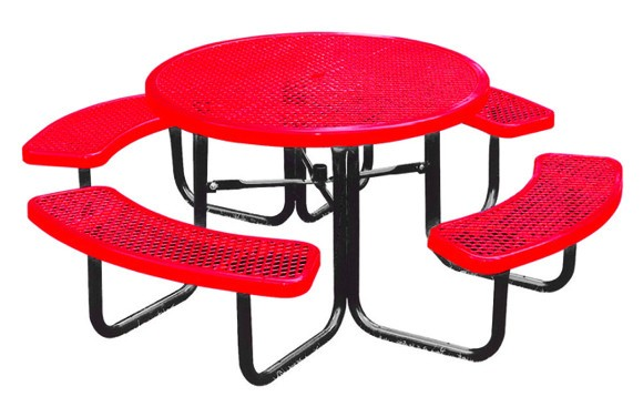 358 Rdev_46in_round_expanded_metal_table Red