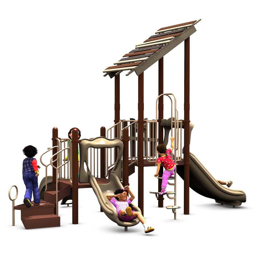 Kids Club Commercial Play Structure - American Playground ...