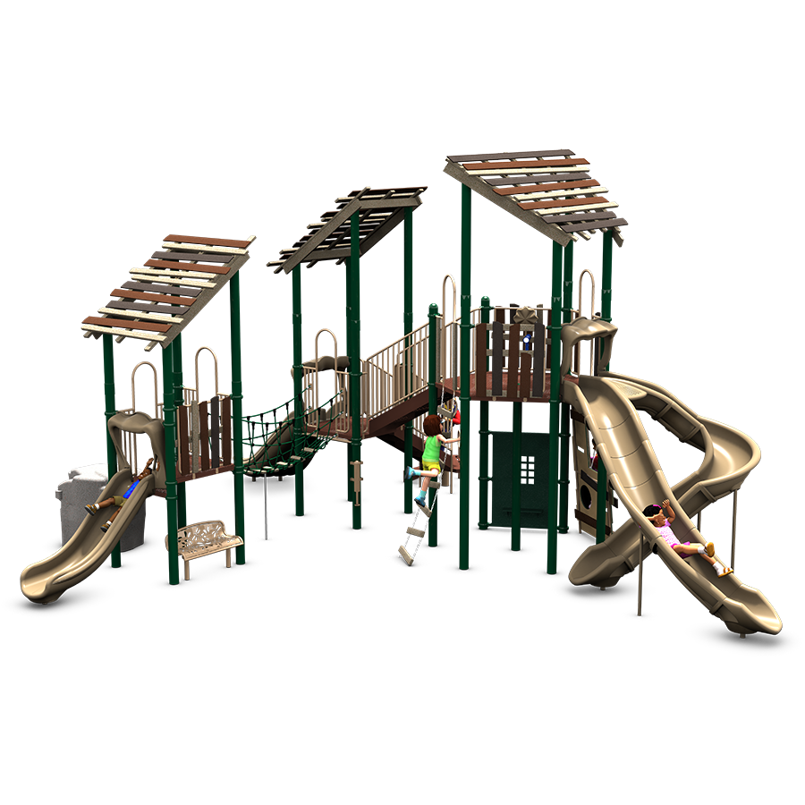 Swiss Family Funhouse Commercial Play Structure American