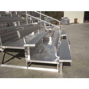Luxury Bleacher Series w/Picket Guardrail