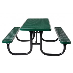 Rectangular Expanded Metal Table