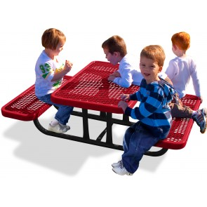 Heavy Duty Diamond Pattern Preschool Table