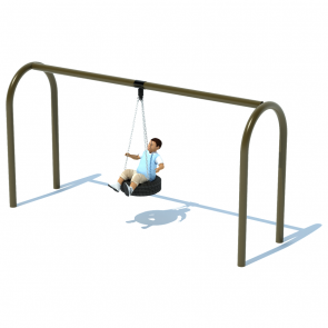 "1 Bay 8' Arch 5"" Tire Swing Frame"