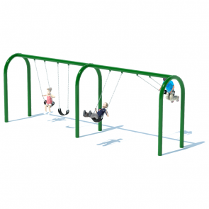 "2 Bay 8' Arch 5"" Swing Frame"