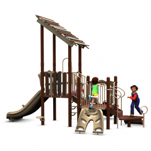 Kids Club treehouse playground Front view