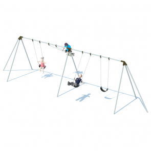 2 Bay 8' Tri-Pod Swing Frame