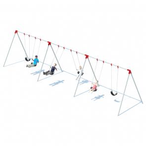 3 Bay Bi-Pod Swing Frame