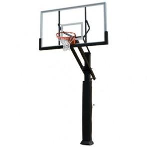 ADJUSTABLE BASKETBALL GOAL SYSTEM