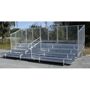 GTG Bleacher Series w/Aisle Handrails