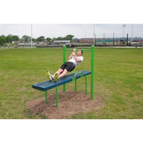Horizontal Chin-Up Station