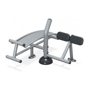 Sit-Up/Back Extension Station