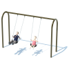 "1 Bay 8' Arch 3.5"" Swing Frame"