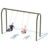 "1 Bay 8' Arch 3.5"" Swing Frame"