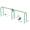 "2 Bay 8' Arch 3.5"" Swing Frame"