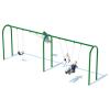 "2 Bay 8' Arch 3.5"" Swing Frame"