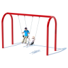 "1 Bay 8' Arch 5"" Swing Frame"