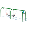 "2 Bay 8' Arch 5"" Swing Frame"